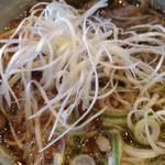 奥三河製麺 - ししラーメンです。