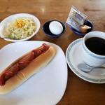 RR - 料理写真:ホットドッグモーニング 500円