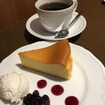 喫茶 こまどり - チーズケーキ