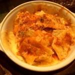 ウマイモンバール アッソ - ナチョス & チーズ。少し食べてから、思い出して写真撮影。もっと沢山入っていましたよ。