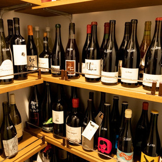 自然派ワインに全国の純米酒♦極上のお酒を楽しんで