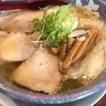 満月 - 塩味わんたん麺