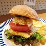 SelFish Diner - こだわりマグロバーガーセット