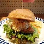 SelFish Diner - カジキマグロの竜田揚げバーガーセット