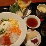 ざうお - ネギトロ丼のランチ(980円)