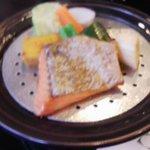 10550755 - 蒸した温野菜&鮭