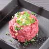 焼肉 多喜 - 料理写真:和牛炙りロース ユッケ仕立て