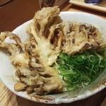 ふたば製麺 - 舞茸天うどん
