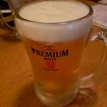 炭火串文化 あぶりや - ビール