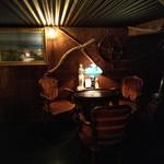 ジガーバーBAR in - 落ち着いた雰囲気の2階席