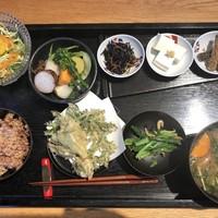 豊受オーガニクスレストラン-お野菜御膳