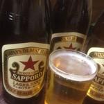 ICO家 - 下町酒場のビールの定番!サッポロラガー赤星