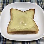 105508935 - とろけるチーズをかけて焼きました。
