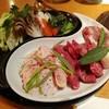 八幡野温泉郷 杜の湯 きらの里 - 料理写真:肉の溶岩焼きコース2人前