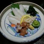 歓中店 - 生蛸刺身