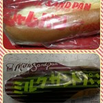 木村屋製パン店 - 料理写真:ジャムパン    ミルクサンドパン