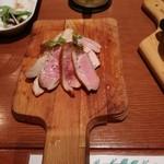 Niku Jyu-Hachi - お肉の燻製3点盛り 800円