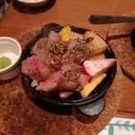Niku Jyu-Hachi - スペイン産豚のさがりグリル 780円