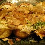 お好み焼き食べ放題 大地の宴 - マヨネーズをかけました