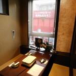 全席完全個室・肉寿司・地鶏 忍亭 - 店内1