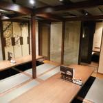 全席完全個室・肉寿司・地鶏 忍亭 - 店内2