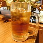 お好み焼き食べ放題 大地の宴 - ウーロン茶