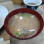 井泉 - 豚汁
