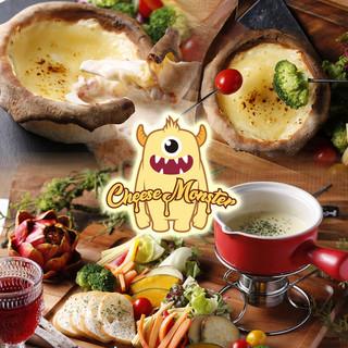 チーズ料理が人気♪シカゴピザやチーズフォンデュが特に人気♪