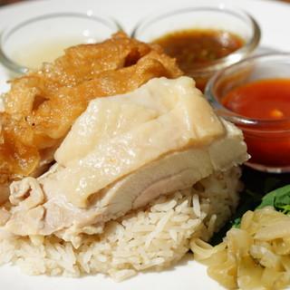 一番人気【カオマンガイ】色々な食べ方紹介‼︎