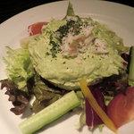 デル・チャルロ - ズワイガニとアボガドのサラダ