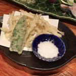 蕪屋 - ●白魚の天ぷら