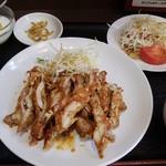 中華料理 味道 - 油淋鶏(ランチセット)