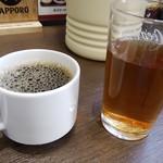 中華料理 味道 - コーヒーと烏龍茶