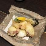 楽空 - タコの天ぷら