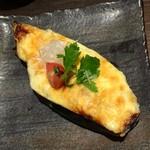 楽空 - 米ナスの味噌チーズ田楽