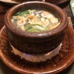 澤いち - あさりと白甘鯛の鍋