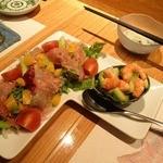 さい賀 - アボカドと海老のサラダ
