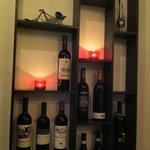ワインカフェ イナバ - 素敵なディスプレー