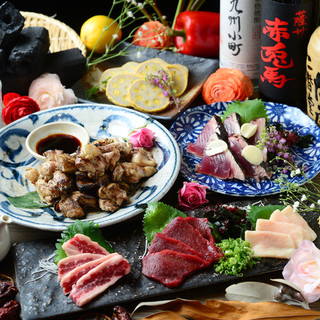 九州料理が自慢!