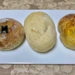バゲット ラビット - 料理写真:丹波の黒豆¥162、プティラビット¥140、チーズプチ¥162