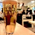 APIZZA - ハートランドの 生ビール(¥510)ハートなランド好きぃ...