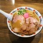 拉麺Shin. - 味噌/780円(チャーシュートッピング)
