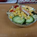 カレーハウス LAHAINA - 野菜サラダ