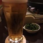 伊吹 - 生ビール (アサヒスーパードライ)