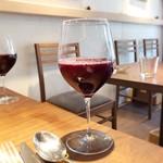 105539159 - ワインじゃなくて、ぶどうジュース^ ^