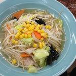 前沢サービスエリア(下り線)スナックコーナー - 料理写真:タンメン