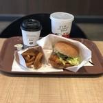 ケンタッキーフライドチキン - ランチA & アメリカンコーヒー(クーポン)