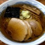 旬麺 - 焼干しラーメン