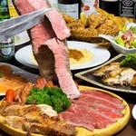 新宿 シュラスコ&チーズダイニング 肉バル ONE - 4250円コース料理