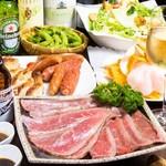 新宿 シュラスコ&チーズダイニング 肉バル ONE - 3200円コース料理